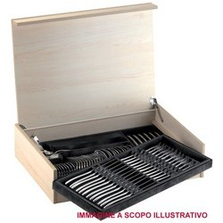 Flatware Set Model AMALFI - Set 49 pieces