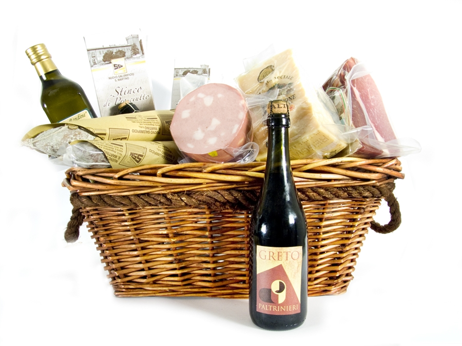 Christmas Gift Basket GHIOTTA DISPENSA - 19 Enogastronomic specialties