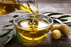 Olio Extravergine di Oliva-36 Latta Cilindrica da 0,1 L-Prodotto Artigianale da Olive 100% Italiane