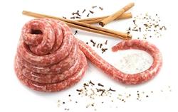 Salsiccia Piccante Dritta sottovuoto 2pz (1 kg. circa)