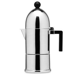 Alessi-La conica Espressomaschine aus Edelstahl 18/10 3 Tassen