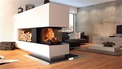 Bio-fireplace CAORLE - 0.8KW - Painted Steel Black