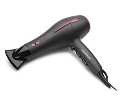 TEXTA TECH - Compact Professional Hair Dryer 2 Speeds 3 Temperatures 2000 W