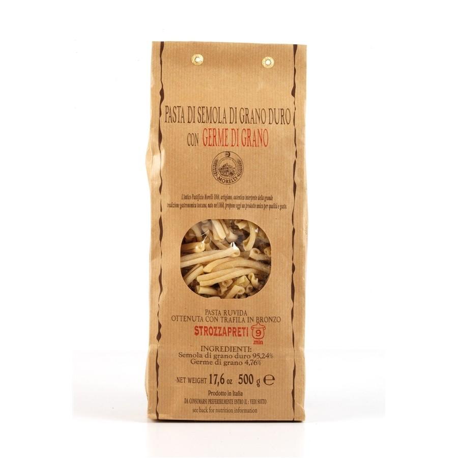 Strozzapreti Wheat germ (500g)-Drawn bronze