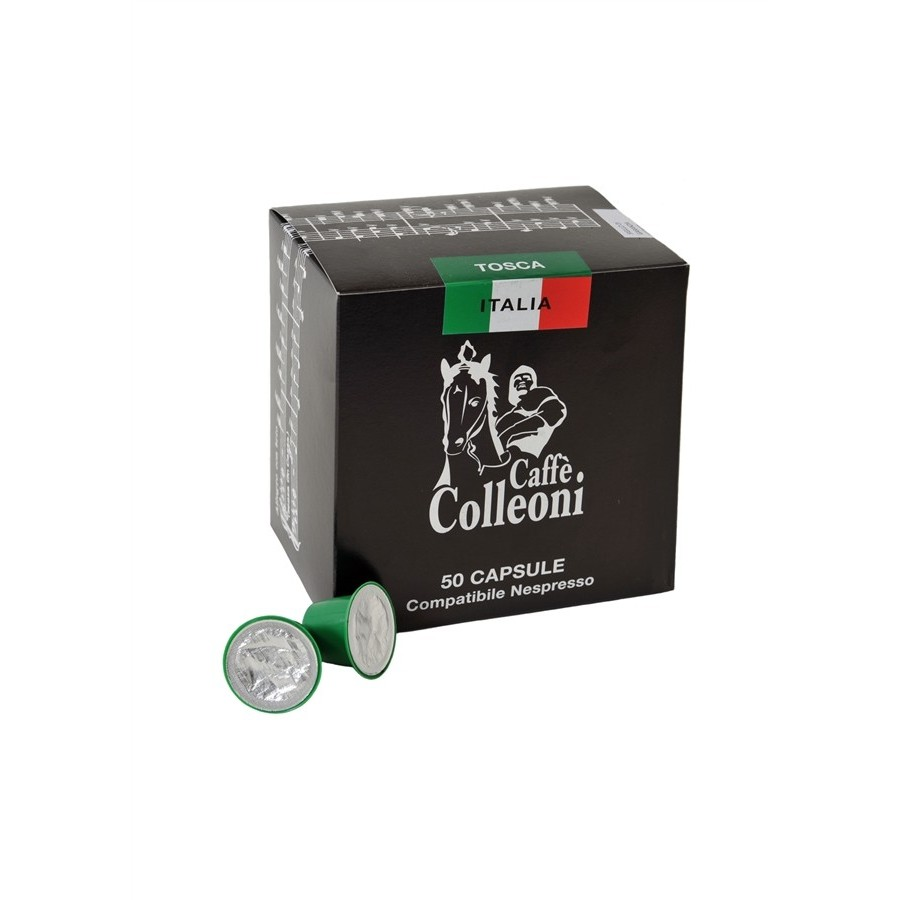 Capsule Compatibili LAVAZZA POINT gr.7 BOX da 50 Capsule - Qualità Oro Premium - Arabica