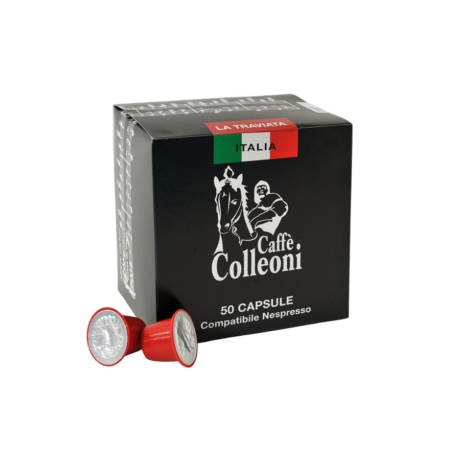 50 Coffee Pod'Nespresso' Intenso