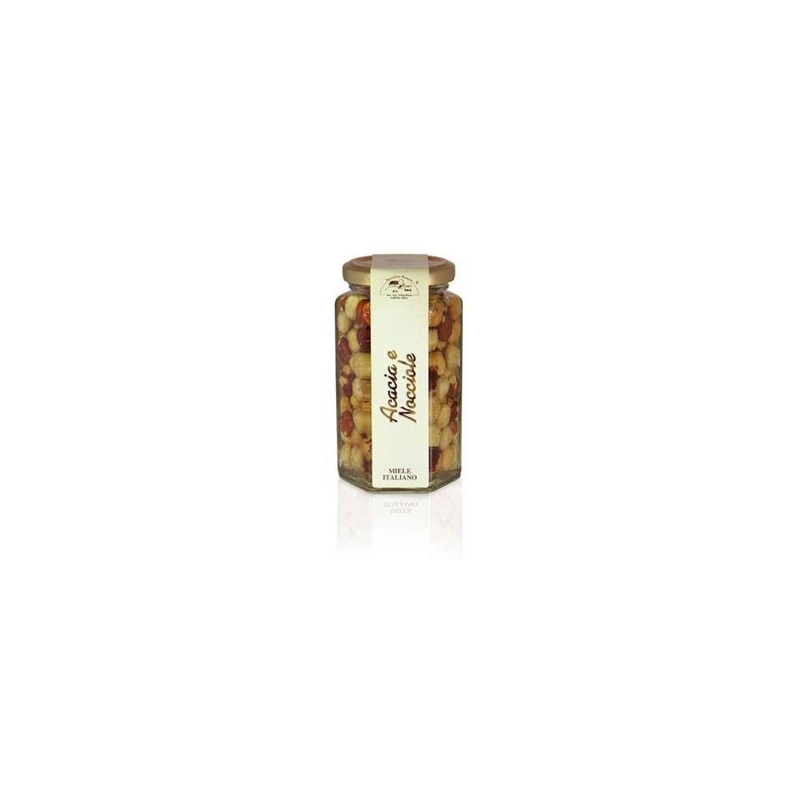 Acacia Honey with hazelnuts 320gr jar