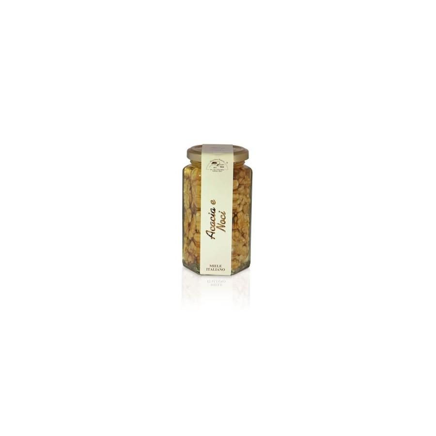 Acacia Honey with Nuts 350g jar