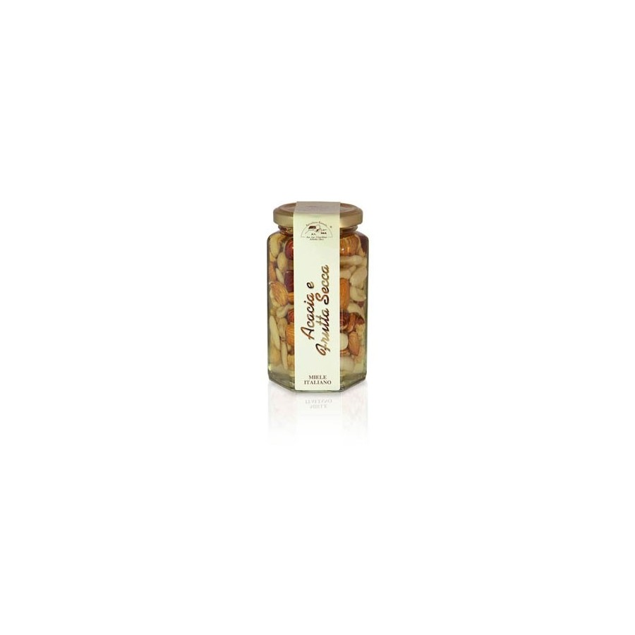 Acacia Honey with Mixed Nuts 350g jar