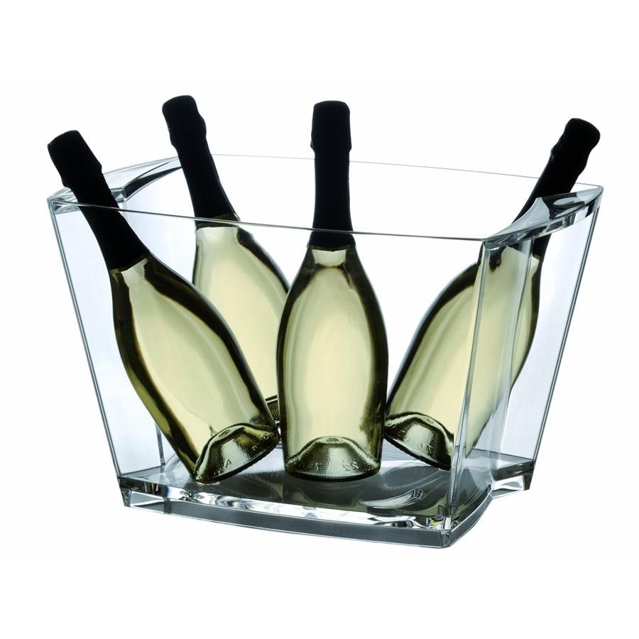 Alaska Sekt, Platz für bis zu 5 Flaschen Sekt oder Champagner