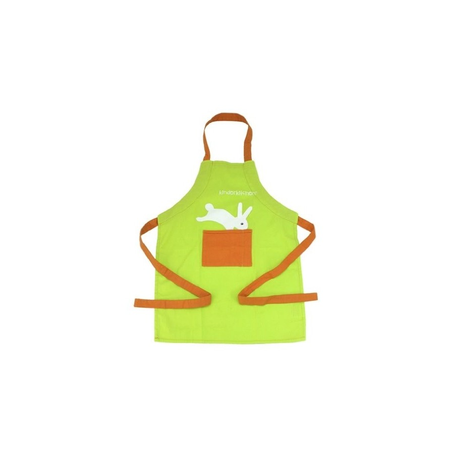 Apron with rabbit for kids