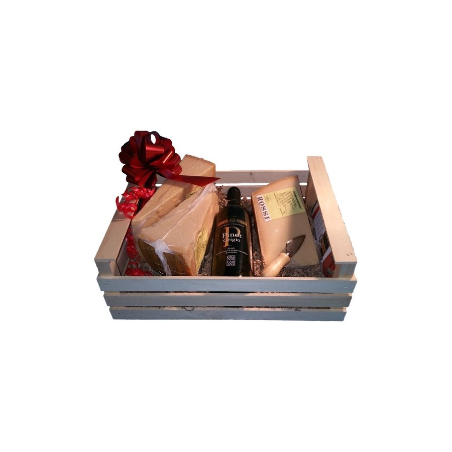 Wooden Box TOP Parmesan