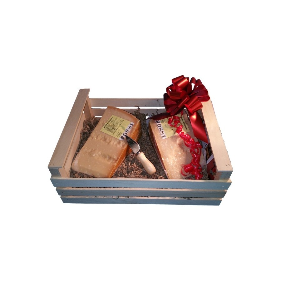 Wooden Box SMART Parmesan