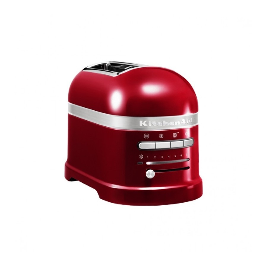 Artisan Toaster 2 compartments Red apple metallic