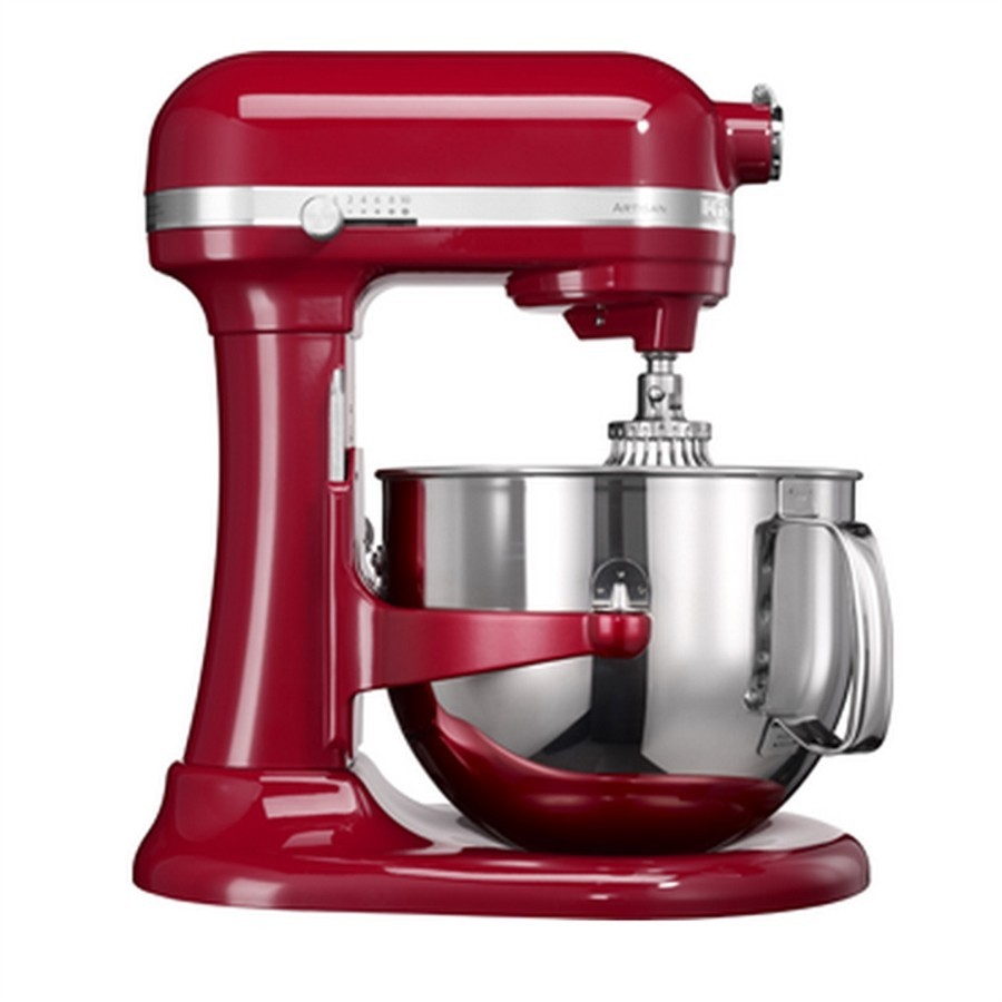 Artisan dough with lifting bowl 6.9 L - Imperial Red