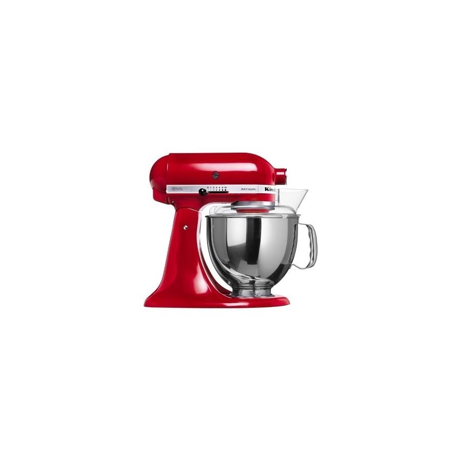 Artisan dough with lifting bowl 6.9 L - Red Apple Metalic