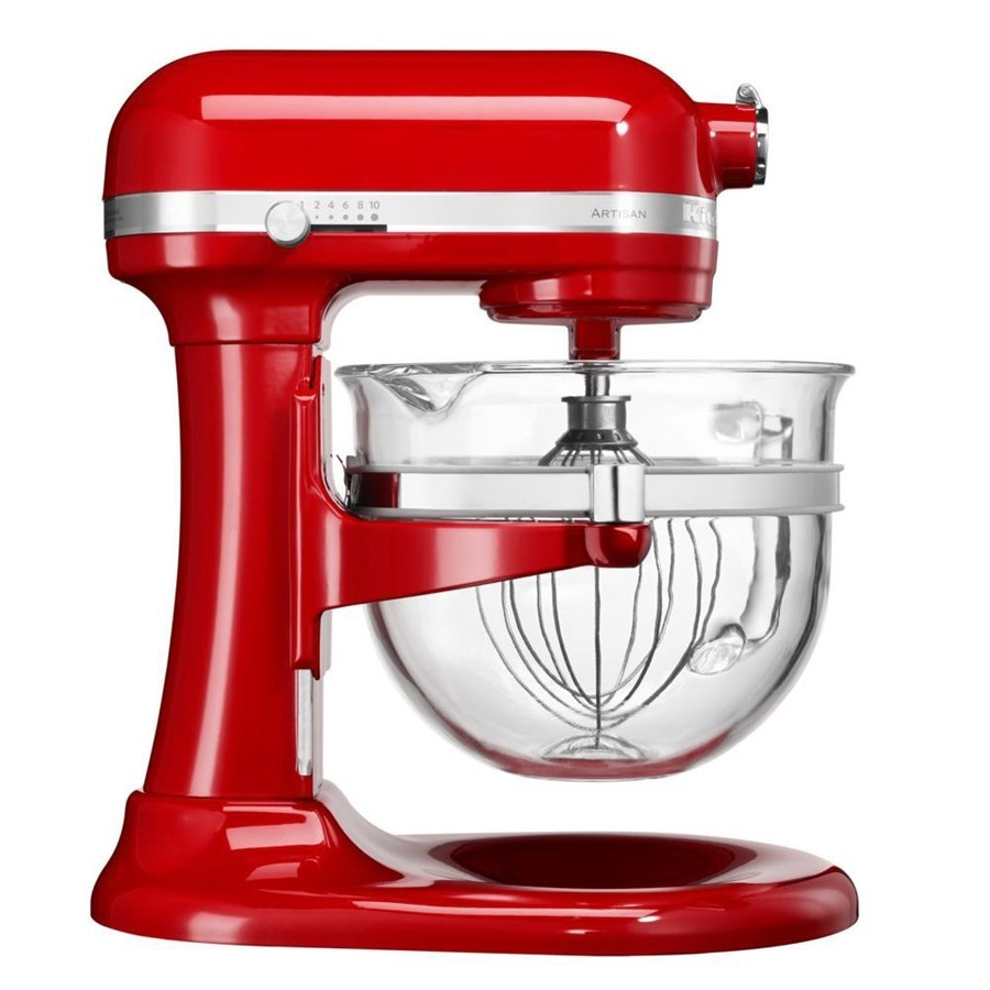 Artisan dough with lifting bowl 6L - Imperial Red