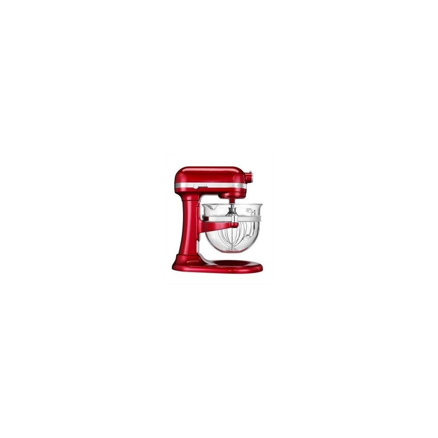 Artisan dough with lifting bowl 6L - Apple Red Metallic