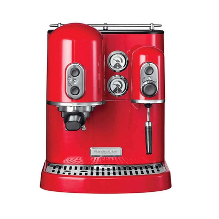 Outstanding Espresso Machine Artisan Imperial Red Kitchenaid Coffee Machines Products Home Remodeling Inspirations Gresiscottssportslandcom