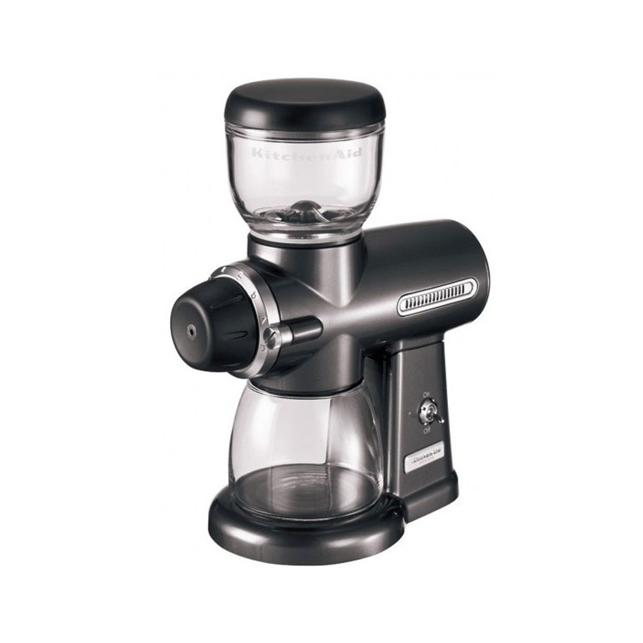 Artisan Coffee Grinder - Metallic Grey