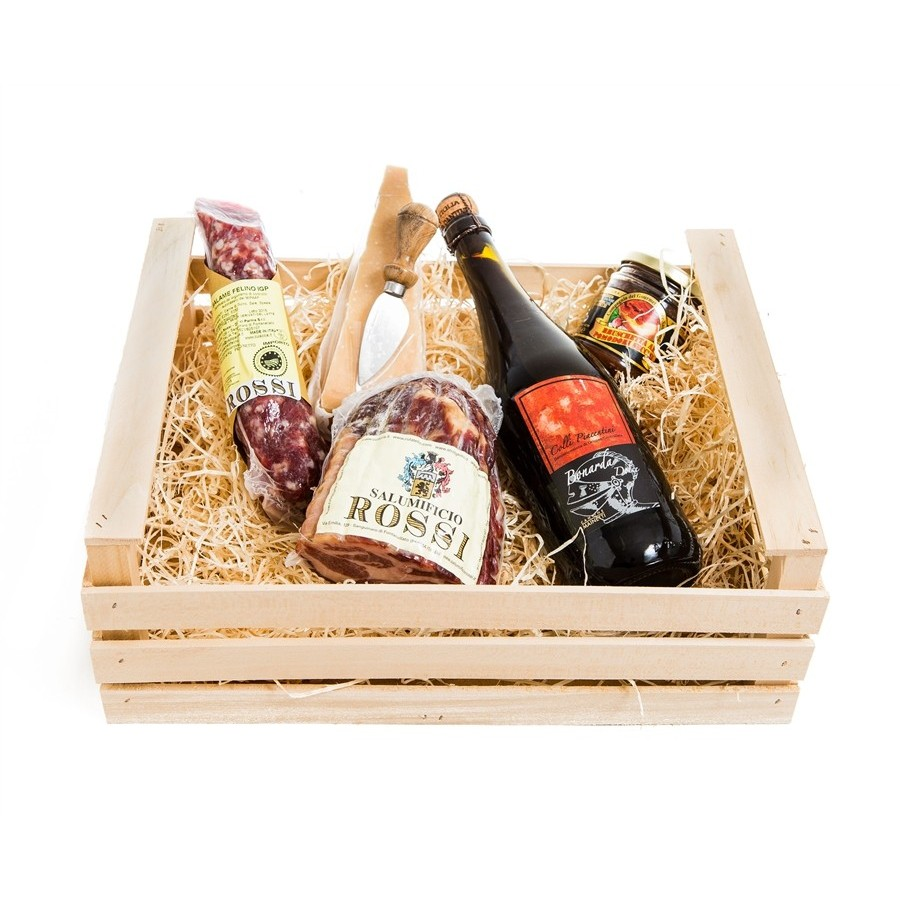 photo Wooden box - Parma Gourmet Classic
