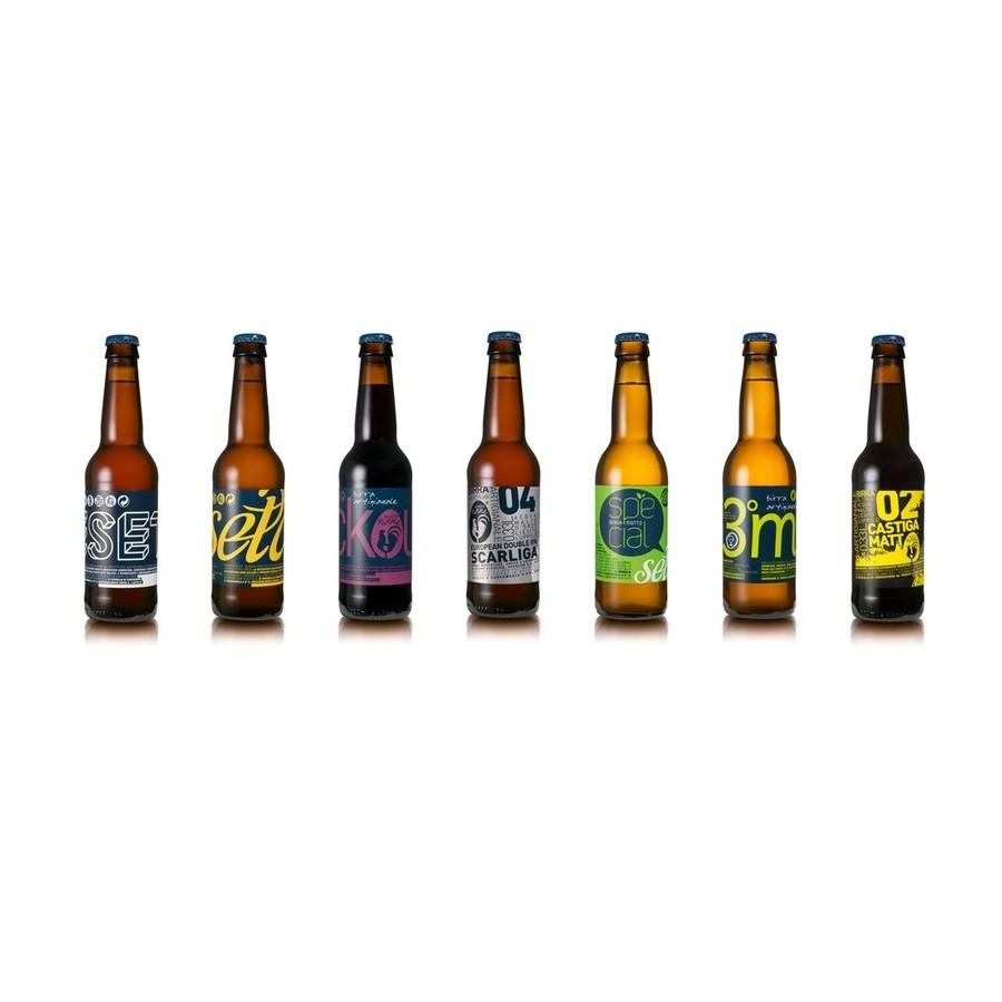 BIRRA ARTIGIANALE - ELITE mix of 8 Craft Beers (8x33cl)