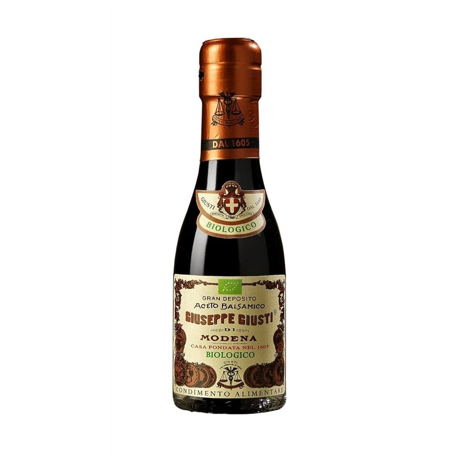 photo Aceto Balsamico di Modena BIOLOGICO - Champagnottina da 100 ml
