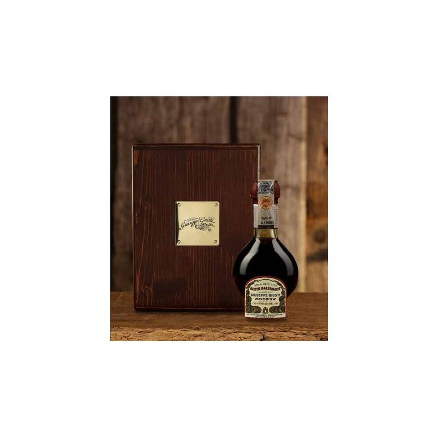 Aceto Balsamico Tradizionale di Modena D.O.P. - Affinato con Astuccio in Legno - 100 ml