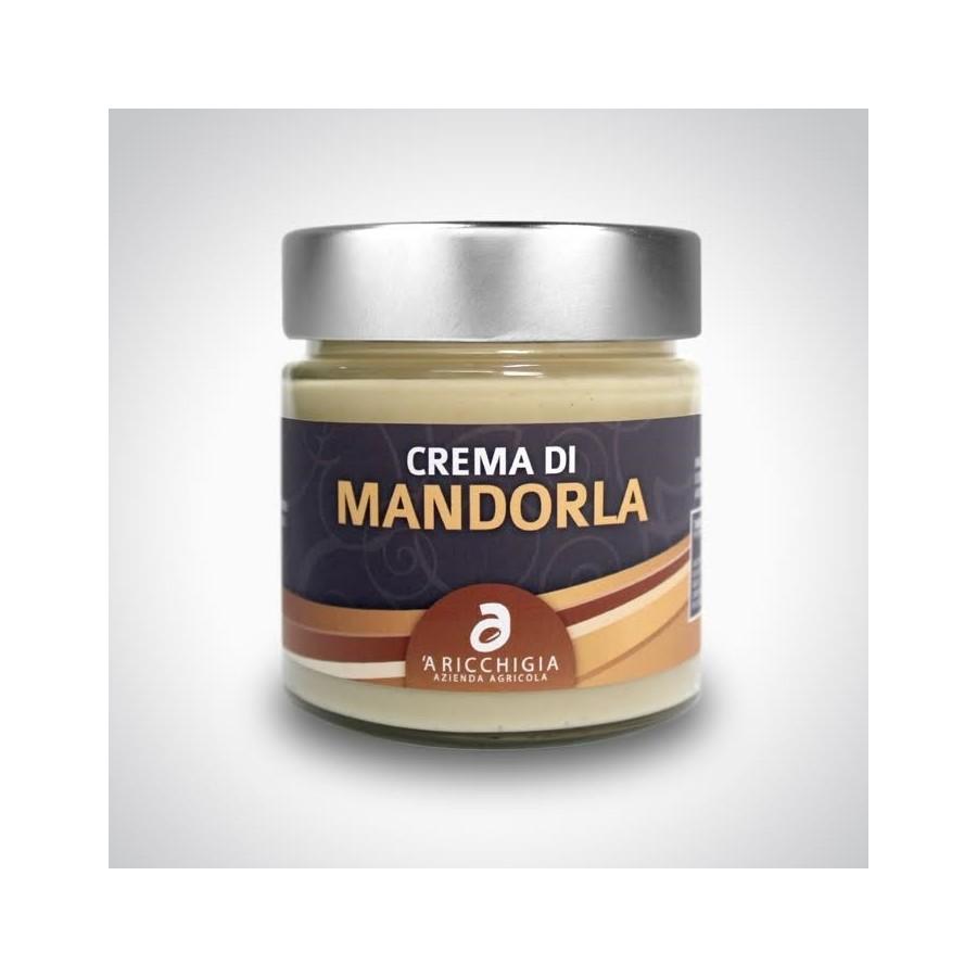 ALMOND CREAM - JAR 90 gr. - Pack 2 pcs - Italian Artisan Product