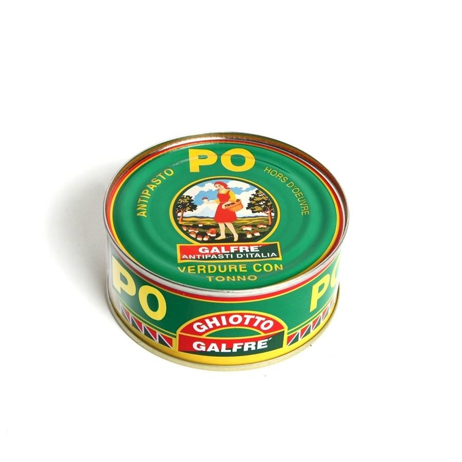 Appetizers-Box 1/4 Appetizer Po gr. 160 - Italian Artisan Product
