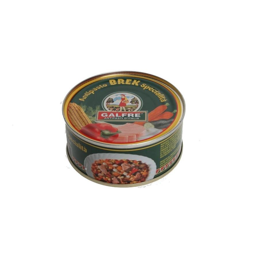 Appetizers-Box 1/4 Appetizer Brek gr. 160 - Italian Artisan Product
