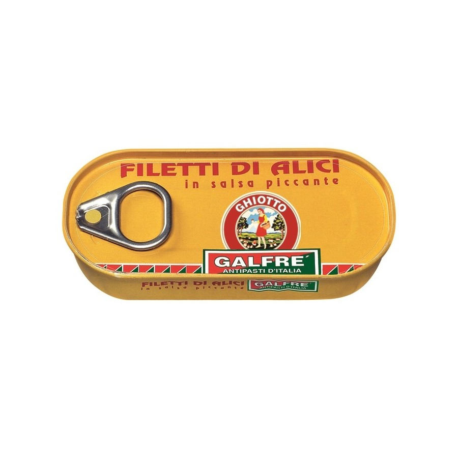 Anchovies - Box of 1/10 gr. 50 - Italian Artisan Product