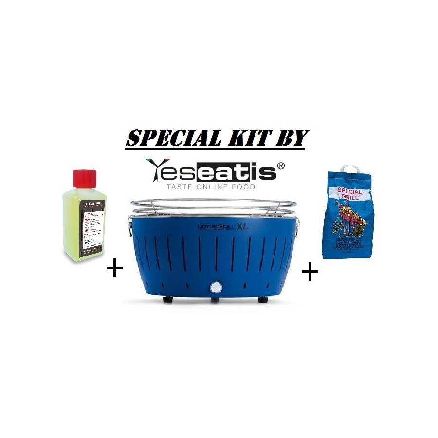 NEW KIT By YESEATIS 2017-Tabelle XL Grill+Charcoal