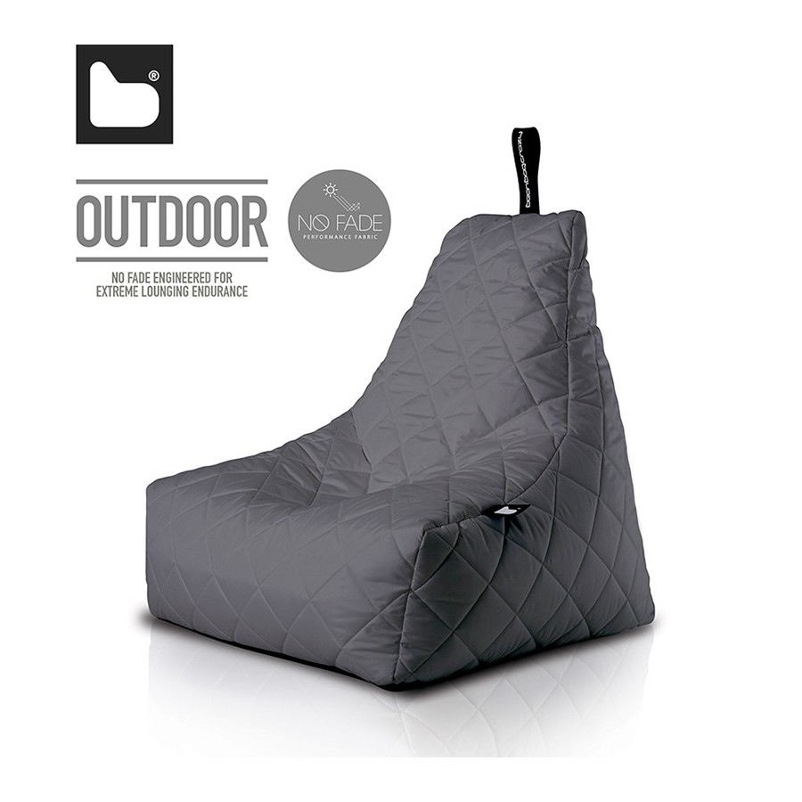 b-bag mighty-b Grey - Quilted