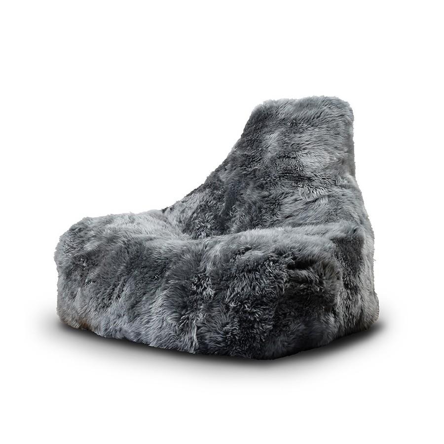 b-bag mighty-b Grey - Sheepskin'FUR