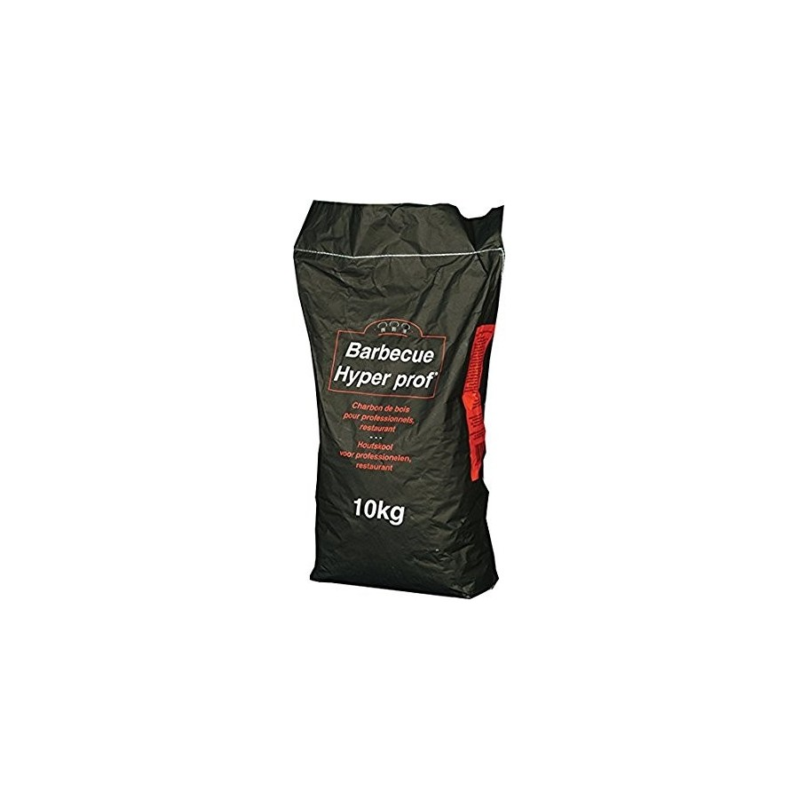 Charcoal for Barbecue Hyper Prof of Firewood Pure - 10 kg bag Tecno Air  System Charcoal Products