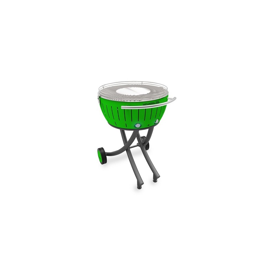Lotusgrill XXL with wheels - Green
