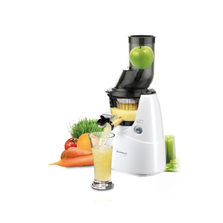 Whole slow juicer + Kit smoothies - White