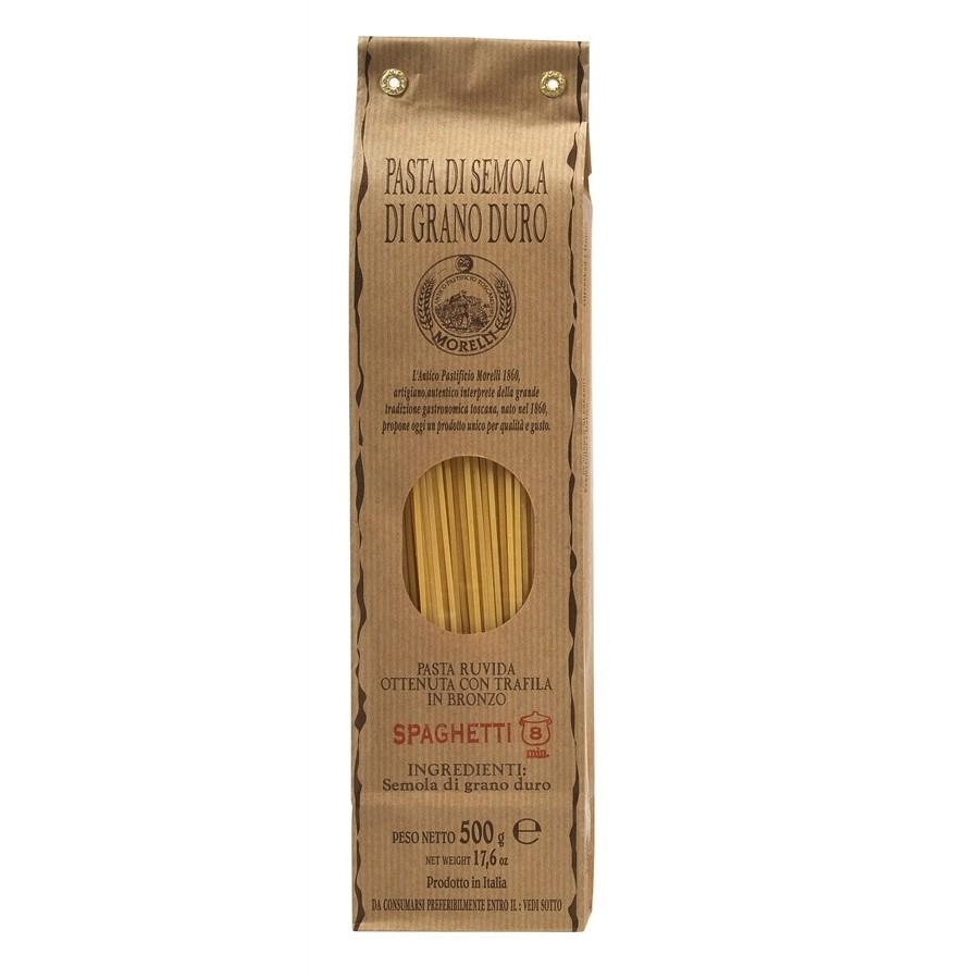 Antico Pastificio Morelli - Spaghetti Classici di Semola di Grano Duro - gr. 500 x 24