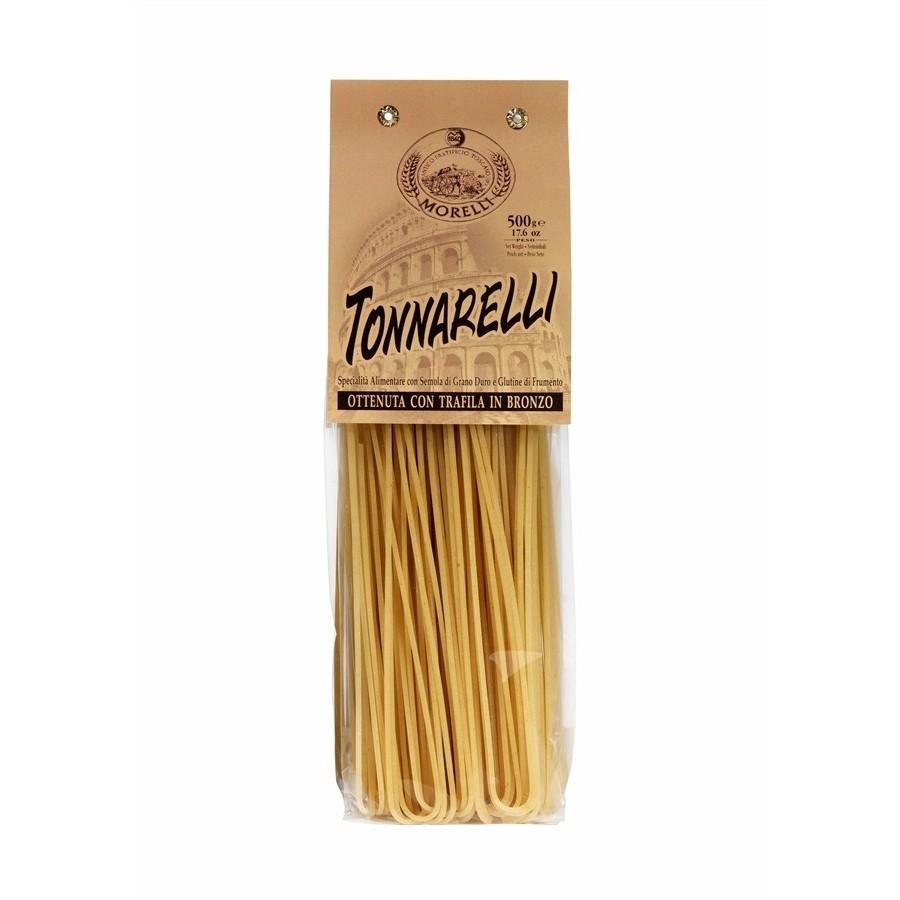 Antico Pastificio Morelli - Spaghettoni Tonnarelli di Semola di Grano Duro - gr. 500 x 16