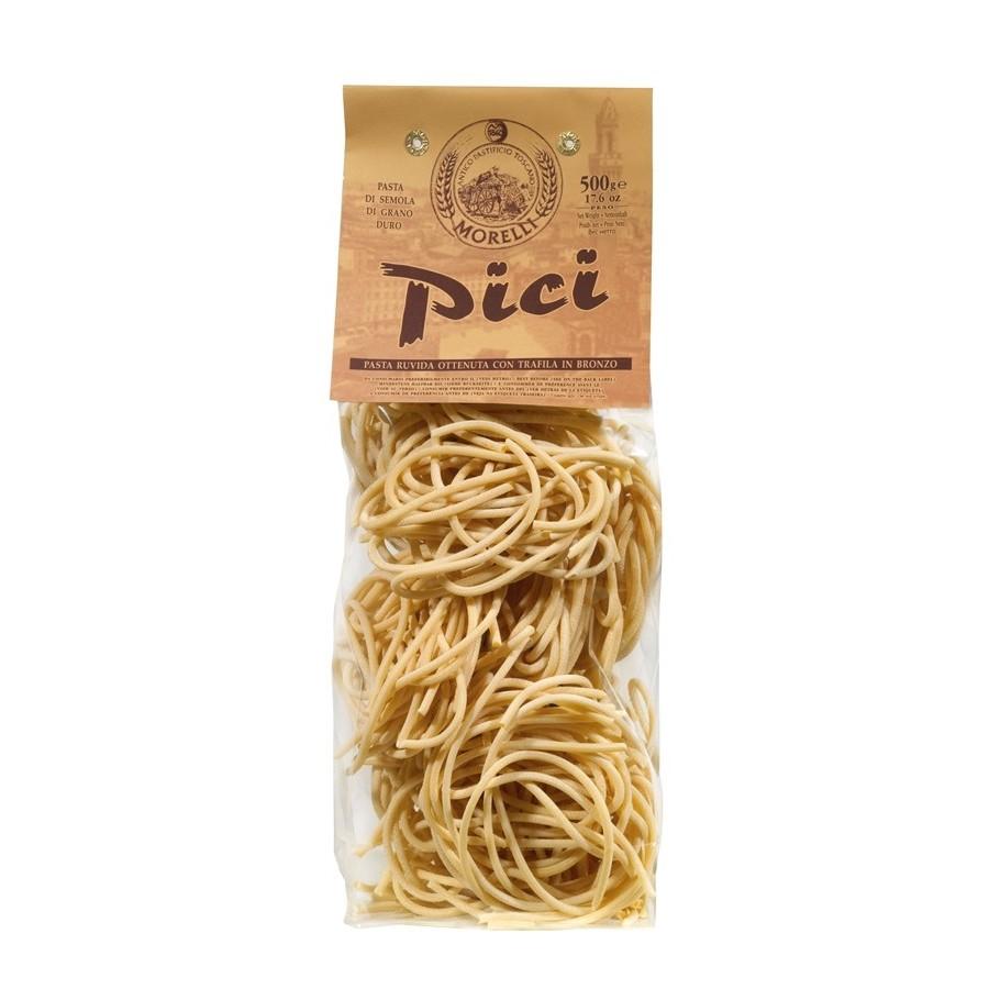 Antico Pastificio Morelli - Pici di Semola di Grano Duro - gr. 500 x 12