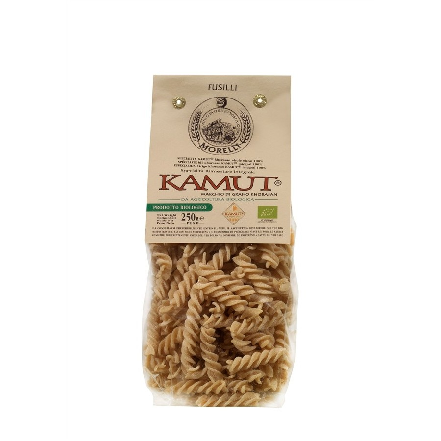 photo Antico Pastificio Morelli - Fusilli Biologici al Kamut - gr. 250 x 16