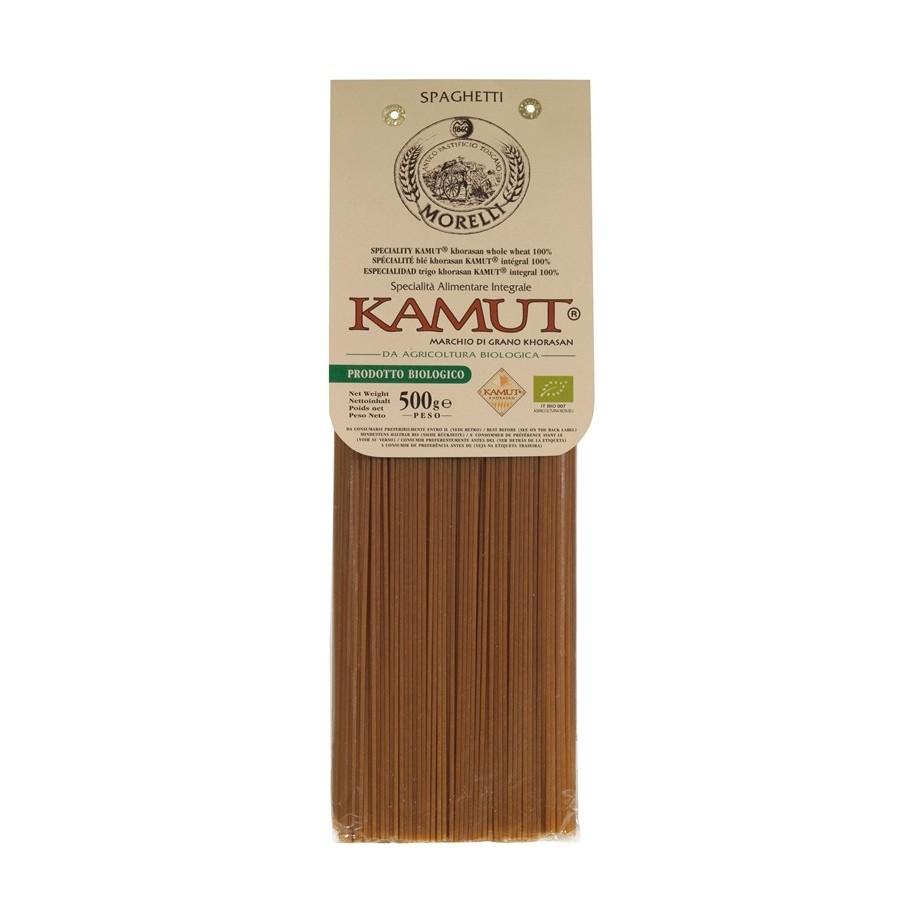 Antico Pastificio Morelli - Spaghetti Biologici Integrali al Kamutgr. 500 x 12