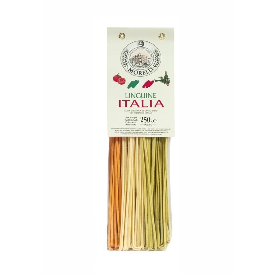Antico Pastificio Morelli - Linguine Tricolori ITALIA - gr. 250 x 16