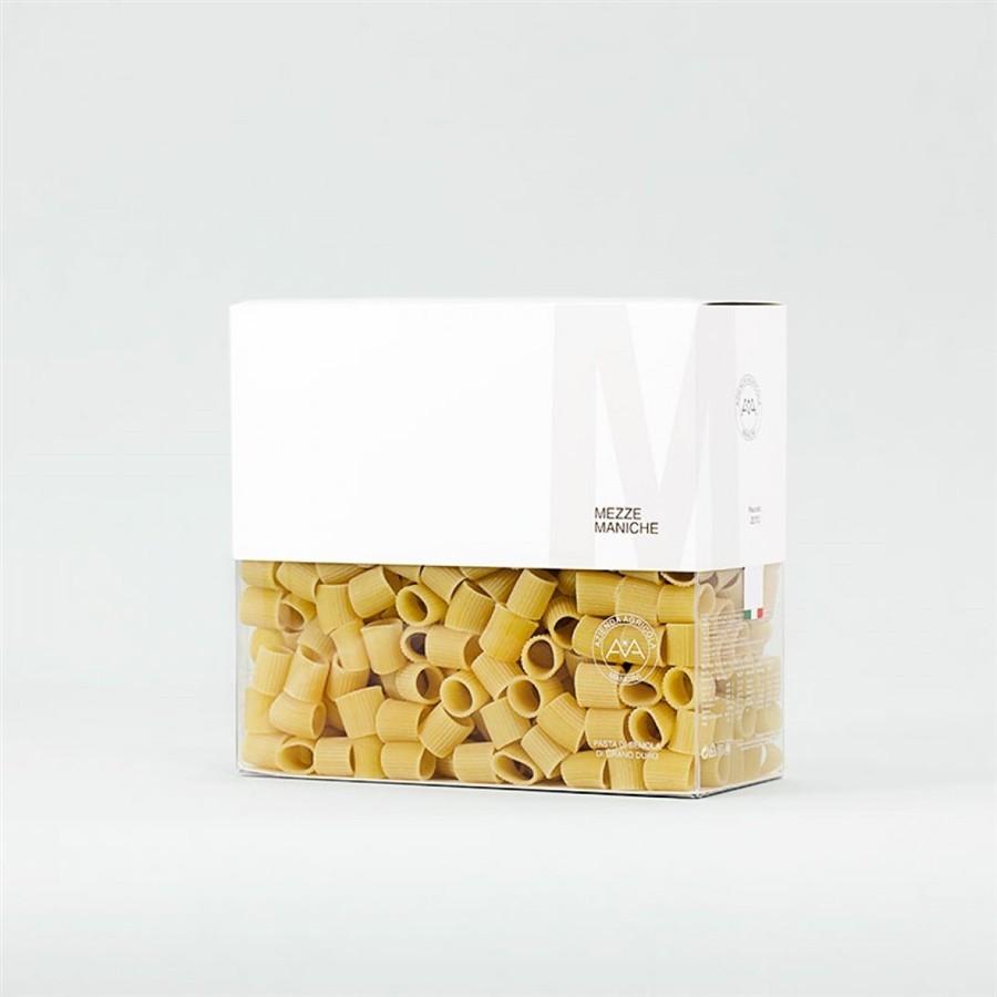 VOLLKORN MEZZE MANICHE RIGATE - Vollkorn Pasta - Biologisch - Packung von 16 x 500g