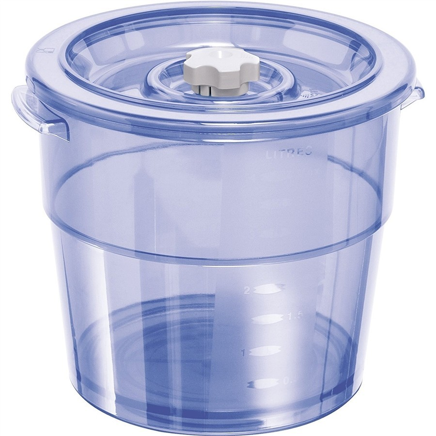 photo Round vacuum container 4 l