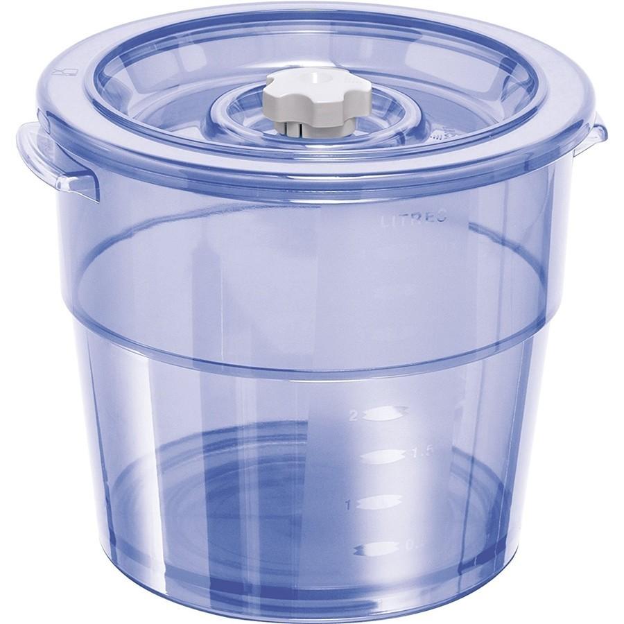 Round vacuum container 4 l