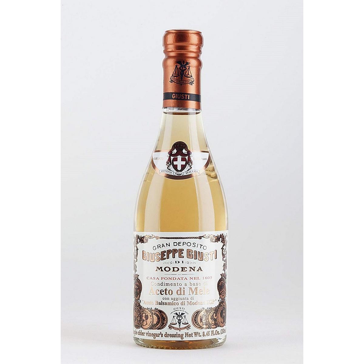 Apple Vinegar - Condiment based on apple vinegar with the addition of balsamic vinegar of Modena IGP
