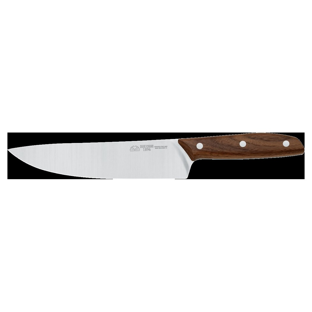 1896 Line - Chef's Knife CM 20 - Stainless Steel 4116 Blade and Walnut Handle
