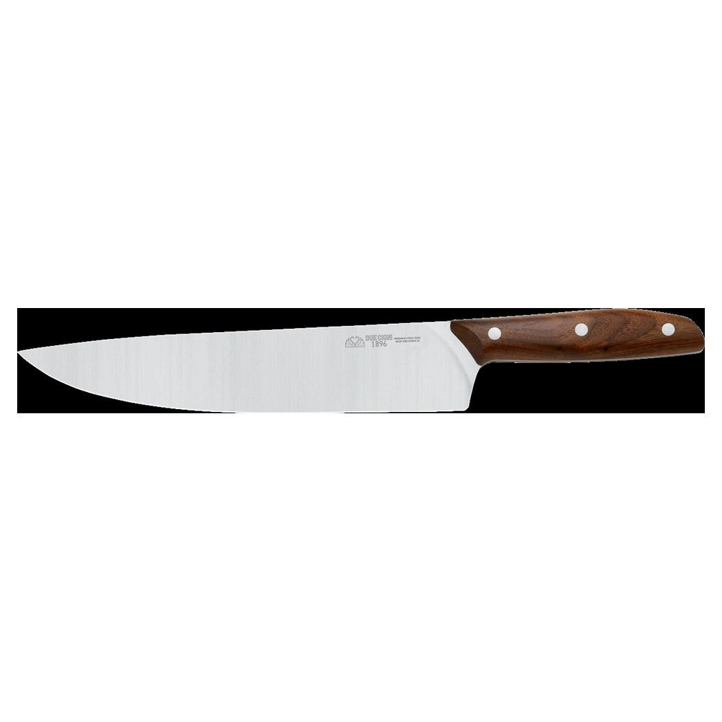1896 Line - Chef's Knife CM 25 - Stainless Steel 4116 Blade and Walnut Handle